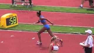 IAAF U20-WM Eugene 2014 - Hochsprung Frauen Finale