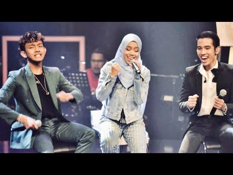Mantap Giler Bilamana Naim Daniel, Sarah Suhairi dan Ismail Izzani menyanyi bersama