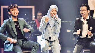 Download lagu Mantap Giler Bilamana Naim Daniel, Sarah Suhairi dan Ismail Izzani menyanyi bersama