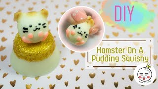 Hamster On Pudding Squishy thumbnail