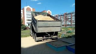 Песок на детскую площадку. Бетоновоз12(Бетоновоз12 доставка песка по Йошкар-Оле и Марий Эл. Зил 6тн, Камаз 13тн, Китаец 30тн. т. 30-59-59., 2016-07-24T20:12:20.000Z)