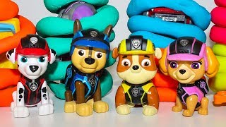 Сборник Щенячий патруль все серии Развивающие мультфильмы Учим цвета Игрушки для детей Сюрпризы