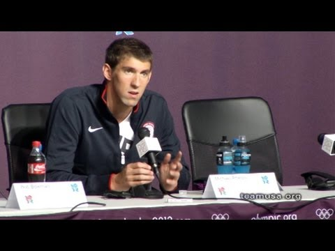 Team USA Olympic Press Conference - Michael Phelps