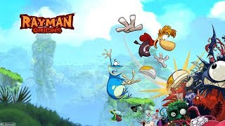 Rayman Origins #1: A Hand Drawn 2D Platforming Adventure! [PS3. 2011]
