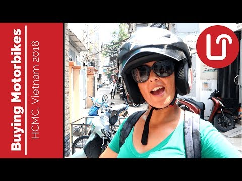Buying Motorbikes in Ho Chi Minh City - Travel Vietnam 2018