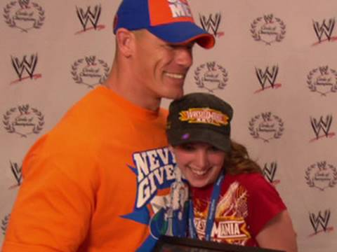 Make-A-Wish Foundation honors John Cena