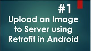 Android Retrofit Image Upload - 01 - Prepare Server Database and Tables