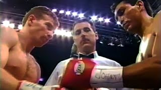 Micky Ward vs Alfonso Sanchez - Highlights (CLASSIC Body Shot KNOCKOUT!)