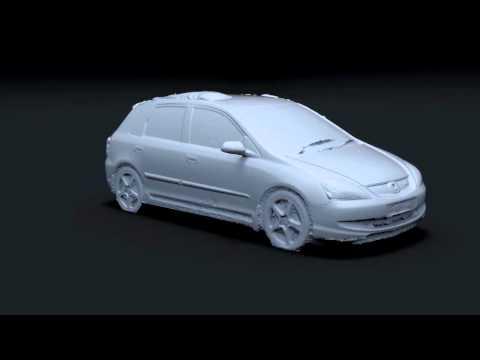 3D Car Scan Using Photogrammetry