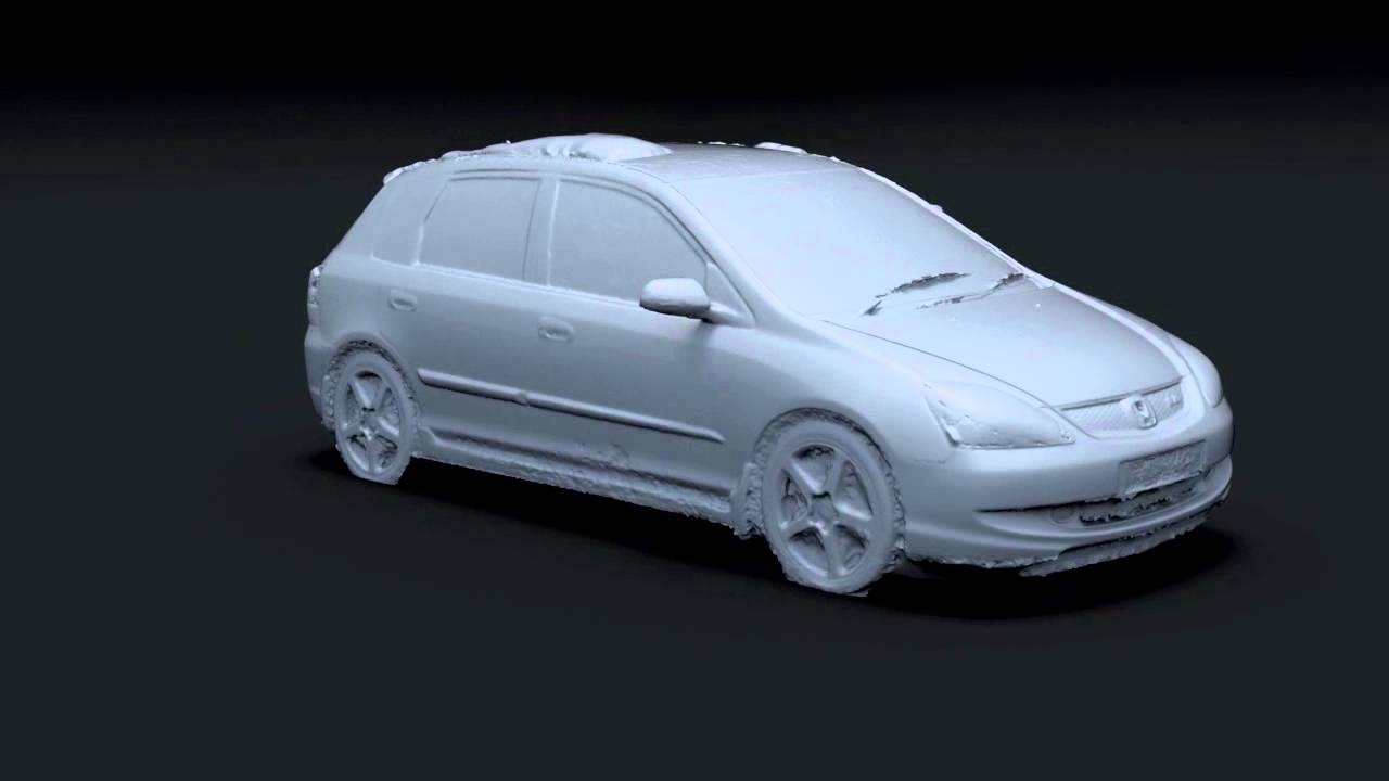 car scan  photogrammetry youtube