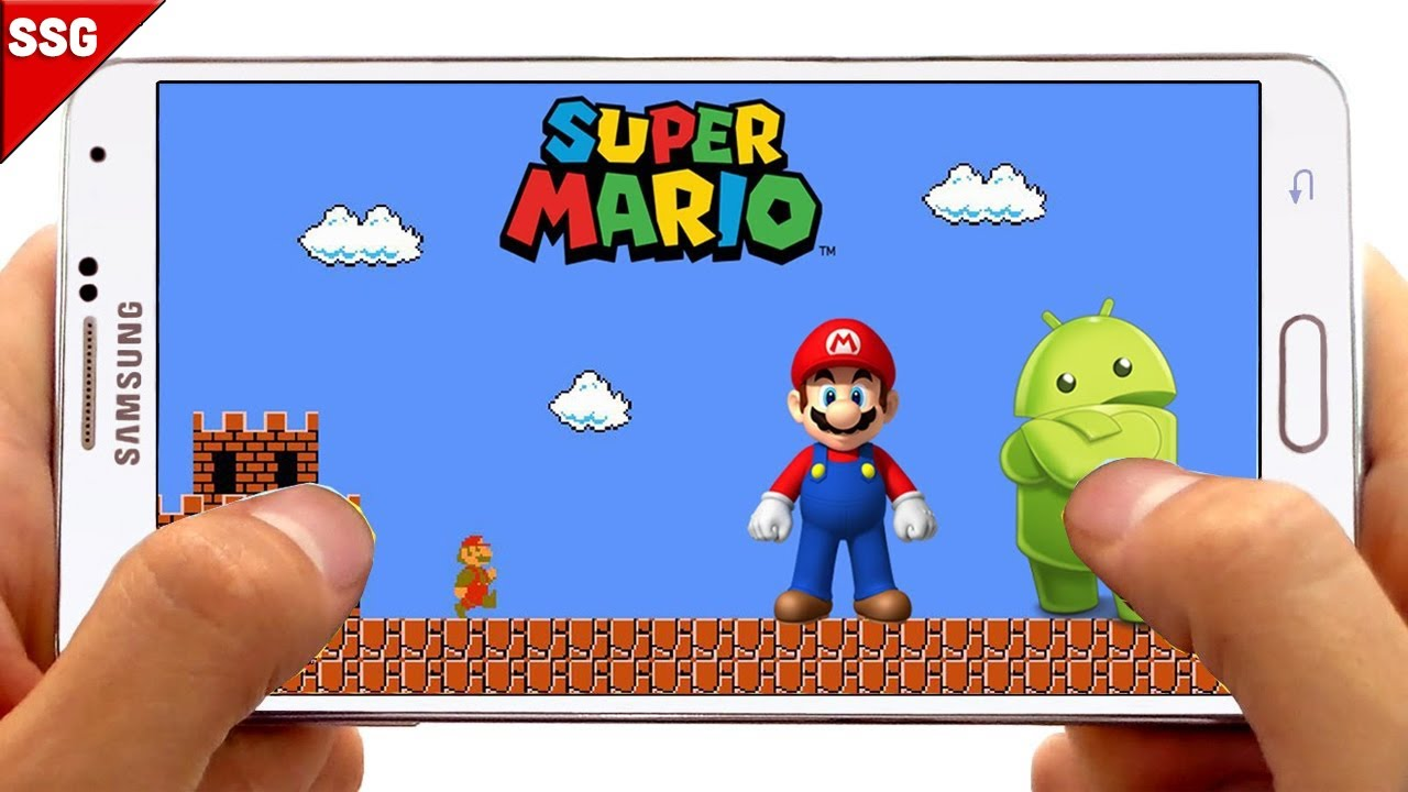 New super Mario bros android Game [ 64 games in 1 ]