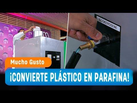 Ingeniero Químico Chileno Crea Máquina Que Transforma El Plástico En Combustible - Mucho Gusto 2019