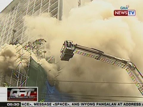 QRT: BFP, inaalam kung sinadya ba ang sunog sa Waterfront Manila Pavilion Hotel & Casino