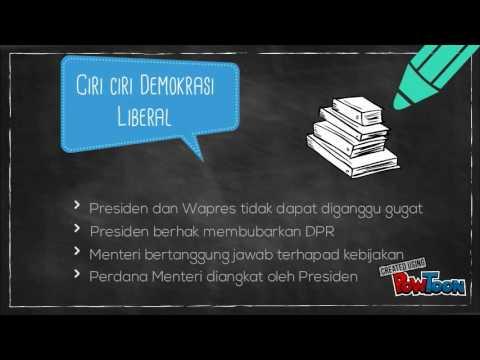sejarah indonesia demokrasi liberal youtube