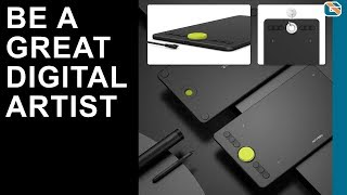 Best Graphics Tablet !!! XP-PEN Deco 02 Graphics Drawing Tablet Review