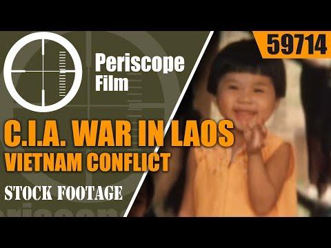 C.I.A. WAR IN LAOS // VIETNAM CONFLICT HOME MOVIES SHOT RAVEN KRT 59714