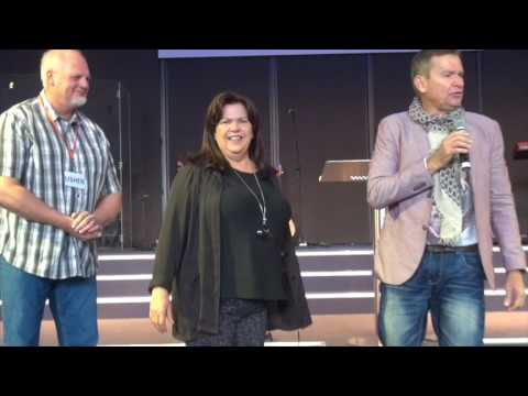 Woman healed from 15 years of chronic stress pain - John Mellor Healing Ministry