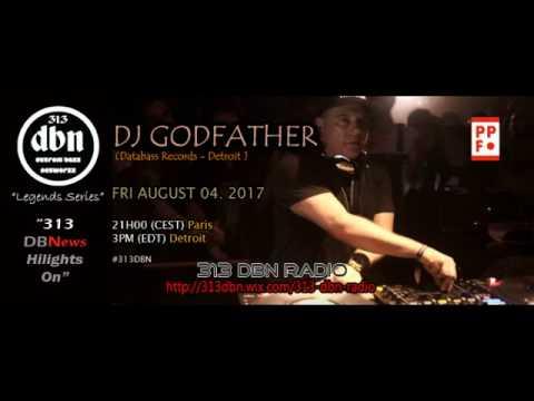 313 DBN Radio - DJ Godfather - PPF 2017, Saint Petersburg, Russia.