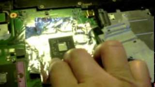 How to Apply Hot Air To Solder a Video Chip