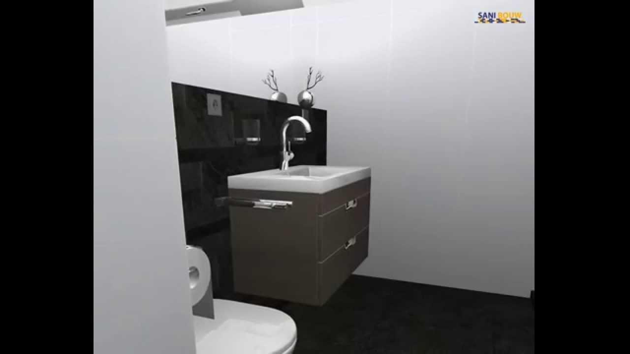 Badkamer ontwerpen met 360° view van Sani-Bouw