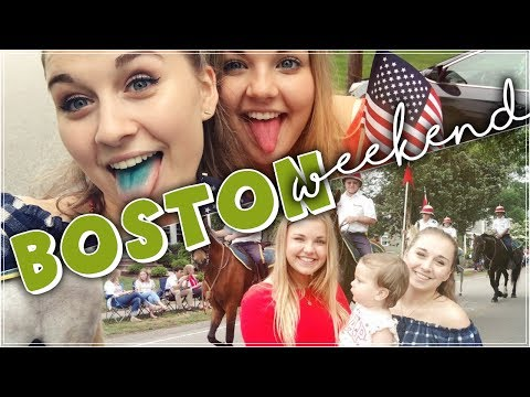 BOSTON WEEKEND | Flag Day Parade, Shopping and a lot of Dalitta | Alittas Diary