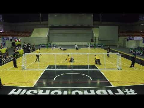 2017 Men's Goalball Asia Pacific Championships Australia v Japan