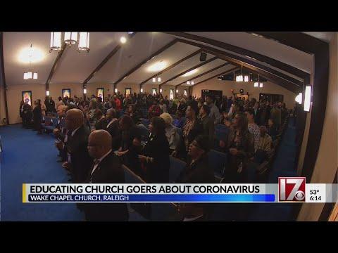 Raleigh Church Educates Members About Novel Coronavirus
