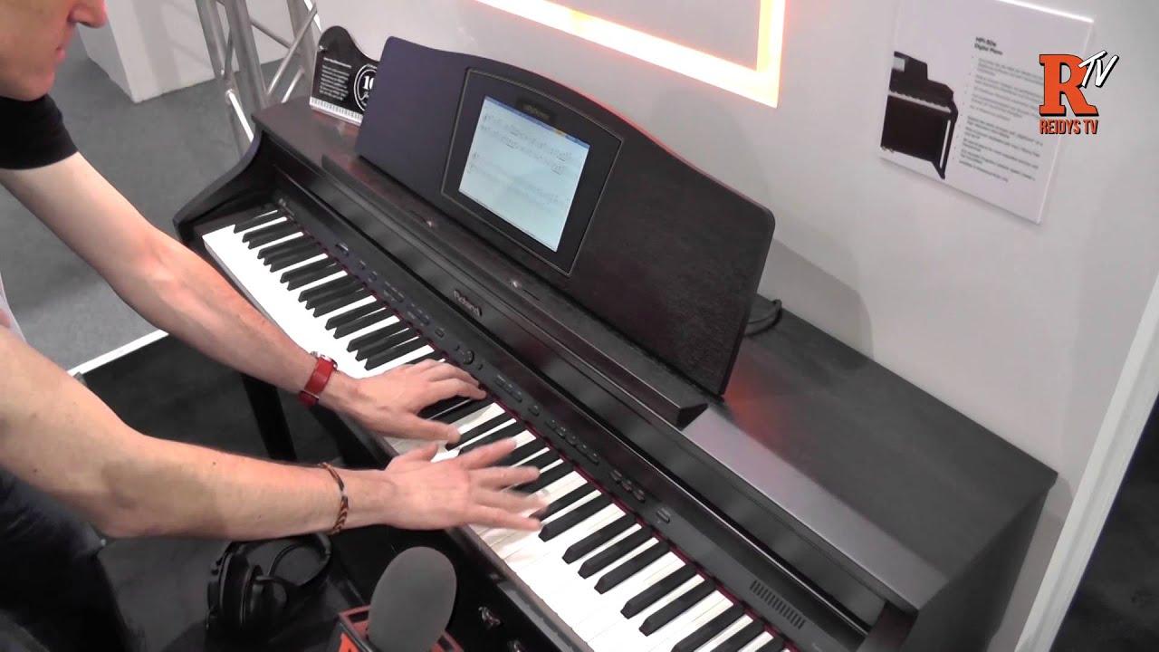 Roland HPi 50e Digital Piano Musikmesse 2015