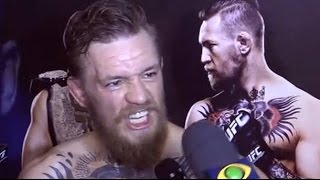 Conor McGregor OWNS Reporters