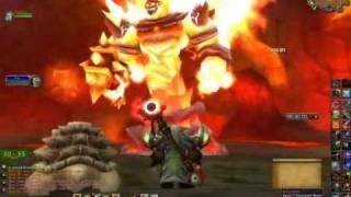Hunter Solo Ragnaros tнe Firelord in Molten Core - World of Warcraft