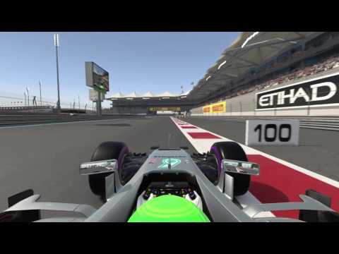 F1™ 2016 PS4 Time Trial Abu Dhabi 1:39.432