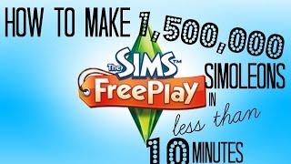 2016 | Simoleon Cheat | Patio Duplication Glitch | Sims Freeplay