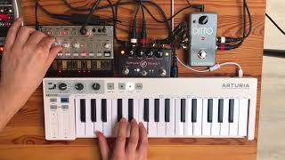 Volca Bass Ambient w/ Looper (TC Electronic Ditto)