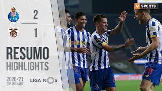 Highlights | Resumo: FC Porto 2-1 Santa Clara (Liga 20/21 #25)