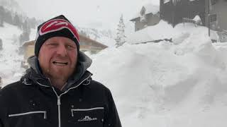 Der Winter in Obertauern am 08.01.2019