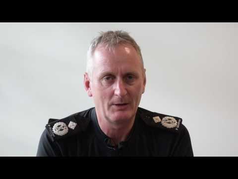 New chief constable begins his tenure