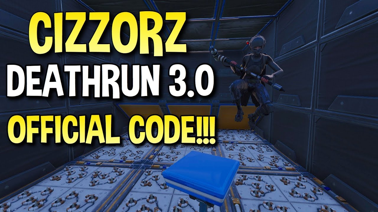 i found the island code to cizzorz deathrun 3 0 in fortnite fortnite battle royale - island code fortnite deathrun