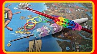 #плетение из резинок#урок 3 #оплетка для крючка, карандаша или ручки