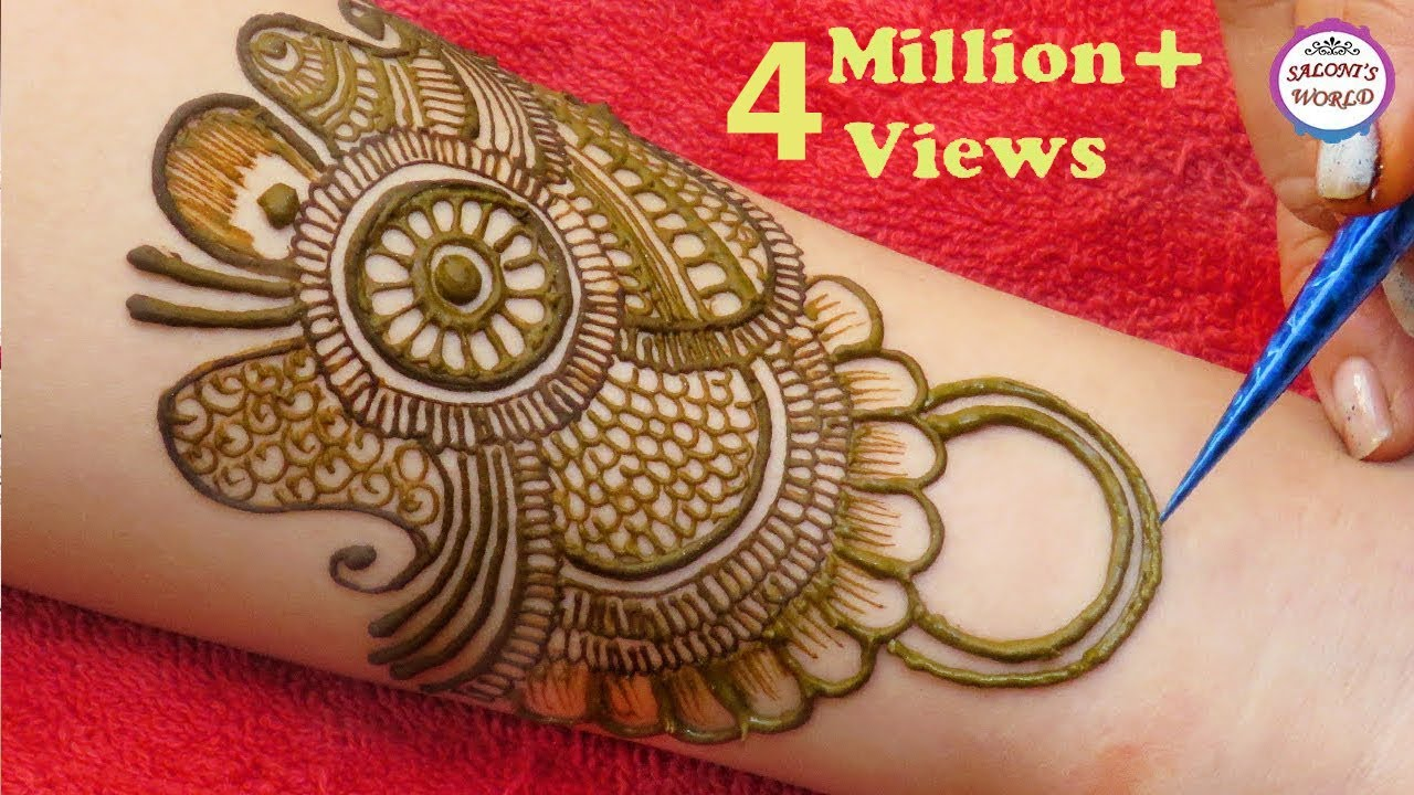 Latest Arabic Mehndi Design For Full Hands | मेहँदी डिजाईन | Mehendi |  Latest mehndi designs