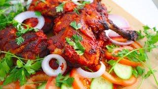 دجاج تندورى فى فرن البيت || على طريقة المطاعم الهندية  tandoori chicken || English subtitles