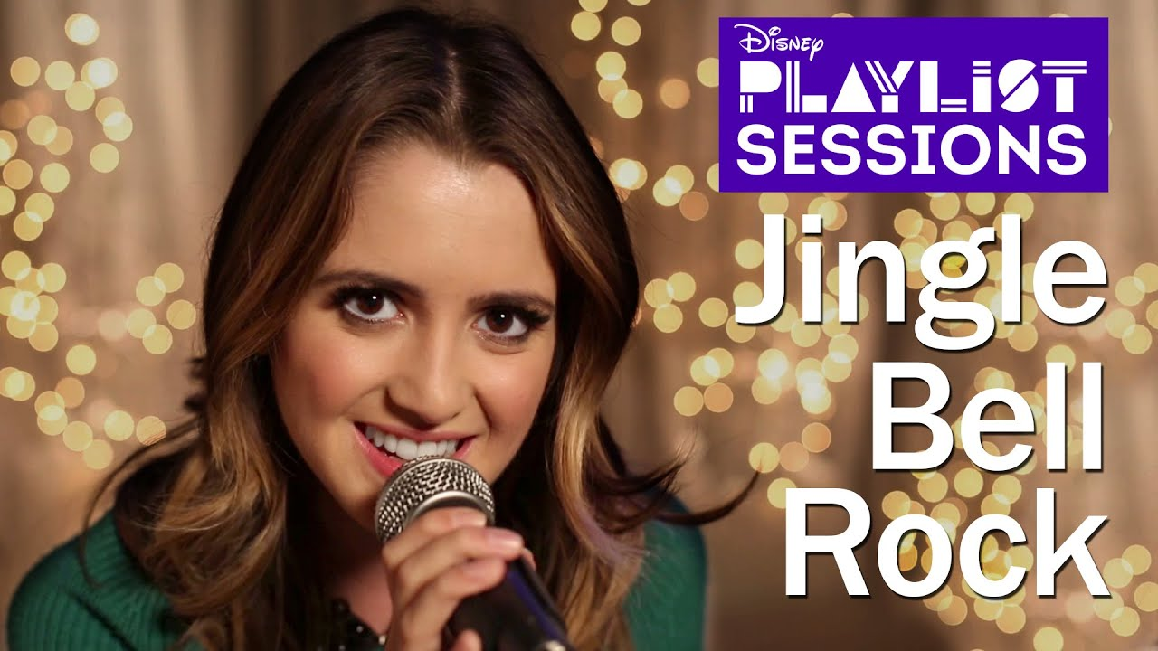 Laura Marano | Jingle Bell Rock | Disney Playlist Sessions