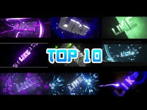 Top 10 Intros De LIKE +(DOWNLOAD) Pelo MediaFire PARA FINAL DO VIDEO
