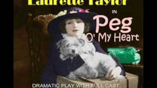 SILENT MOVIE & BROADWAY Star Laurette Taylor in Peg O My Heart