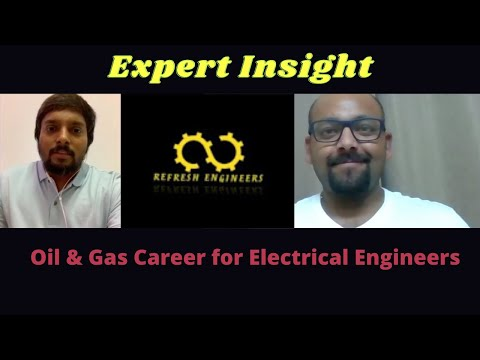 Oil & Gas Career for Electrical Engineers