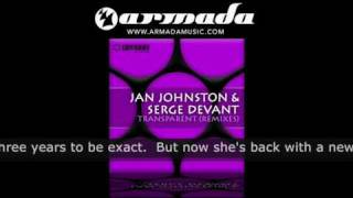 Jan Johnston & Serge Devant - Transparent (Outback Remix) (CVSA018)