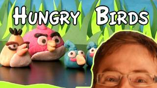Real Life -- Angry Birds  (almond Paste)