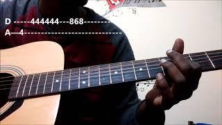 Yentha Sakkagunnave Song - Rangasthalam   Guitar Tabs Lesson for Beginners