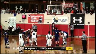 Repeat youtube video Boys Basketball - Under Armour Holiday Classic: Championship Game - St. Augustine vs. Sheldon