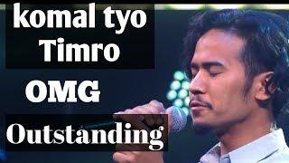Komal tyo timro badhan ma  Karan Dong  Sabin Rai  The Voice of Nepal Season 2   2019  Episode 5