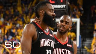James Harden & Chris Paul have to figure out how to work through their tension - Woj | SportsCenter